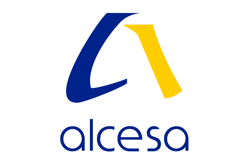 Logotipo Alcesa